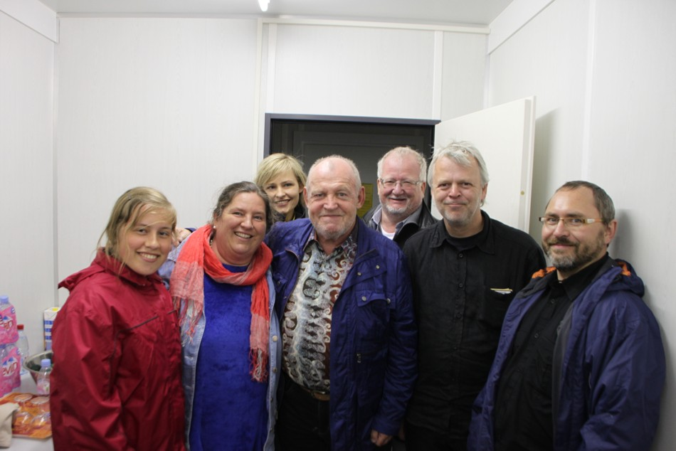 Gruppenfoto Mit Marion Kuchenny 3 V L Joe Cocker Mitte Jorg